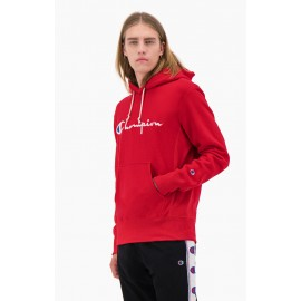 CHAMPION UOMO HOODED SWEATSHIRT FELPA 2021