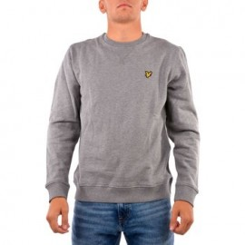 LYLE&SCOTT UOMO BRUSHED BACK CREW NECK FELPA 2021
