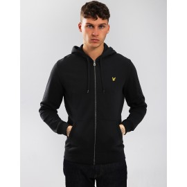 LYLE&SCOTT UOMO BRUSHED BACK ZIP FELPA 2021