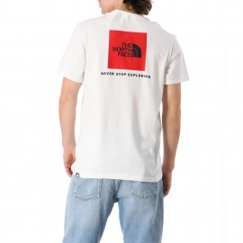 THE NORTH FACE UOMO FINE RED BOX T-Shirt 2021